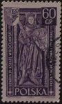 Stamps : Europe : Poland :  caballero