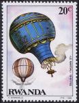 Stamps Rwanda -  Globo