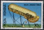 Stamps Romania -  Aviación