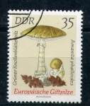 Stamps Germany -  amanita phalloides