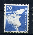 Stamps Germany -  astillero
