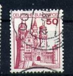 Sellos de Europa - Alemania -  castillo