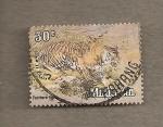 Stamps Malaysia -  Tigre