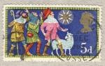 Sellos de Europa - Reino Unido -  Christmas 1969