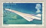 Sellos de Europa - Reino Unido -  Primer vuelo del Concord