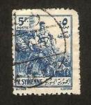 Stamps : Asia : Syria :  trabadores del campo