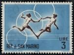 Stamps San Marino -  Deportes