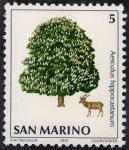 Stamps Europe - San Marino -  Flora y fauna