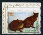 Stamps Africa - Equatorial Guinea -  gatos siameses de pelo oscuro
