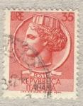 Stamps Italy -  Antica moneta siracusana