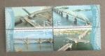 Sellos de Europa - Ucrania -  Puentes