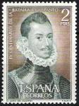 Sellos de Europa - España -  IV Centenario de la Batalla de Lepanto.Don Juan de Austria.