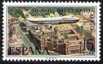 Stamps Spain -  L Aniversario del correo aéreo. Boeing 747.
