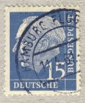 Stamps Germany -  70 anniv. Presidente Th. Heuß