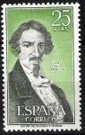 Sellos de Europa - España -  Personajes españoles. José de Espronceda.