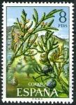 Stamps Spain -  Flora. Sabina Albar