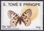 Sellos del Mundo : Africa : Santo_Tomé_y_Principe : Mariposas