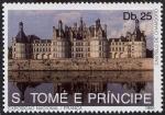 Sellos de Africa - Santo Tomé y Principe -  Edificios y monumentos