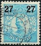 Stamps Sweden -  Gustavo V