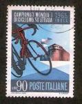 Stamps : Europe : Italy :  Campeonato mundial de ciclismo