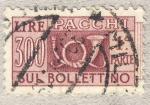 Sellos de Europa - Italia -  Pacchi postali 1ªparte