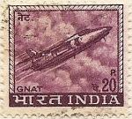Sellos de Asia - India -  GNAT