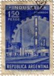 Sellos de America - Argentina -  Industria. Argentina