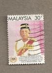 Sellos de Asia - Malasia -  Toma posesión del 10th sultán en 1994