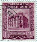 Sellos de America - Venezuela -  Oficina principal de correos Caracas. República de Venezuela