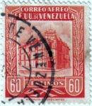 Stamps Venezuela -  Oficina principal de correos Caracas. República de Venezuela