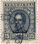 Sellos de America - Venezuela -  Urdaneta. Correo de Venezuela