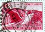 Sellos de America - Venezuela -  Autopista Caracas-la Guaira. República de Venezuela