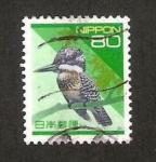Stamps : Asia : Japan :  fauna, pajaro