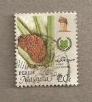 Stamps Asia - Malaysia -  Elaeis guineensis