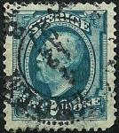 Stamps Sweden -  Efigie de Oscar II