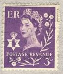 Stamps United Kingdom -  Queen Elizabeth II  ER