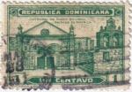Sellos de America - Rep Dominicana -  Catedral de santo Domingo, primada de America