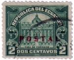 Stamps Ecuador -  Casa de correos. República del Ecuador