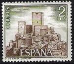 Stamps Spain -  2094 Castillos de España. Santa Catalina, Jaen