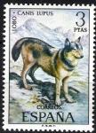 Sellos de Europa - España -  Fauna hispánica. Lobo.