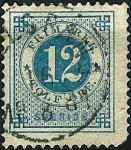Stamps Sweden -  Cifra