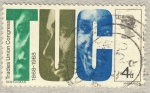 Sellos de Europa - Reino Unido -  Centenario del TUC
