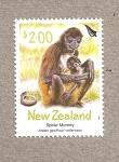 Sellos de Oceania - Nueva Zelanda -  Mono araña