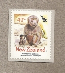 Sellos de Oceania - Nueva Zelanda -  Babuino