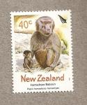 Stamps New Zealand -  Babuino