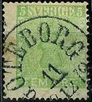 Sellos de Europa - Suecia -  Escudo valor en ÖRE