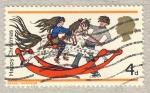 Stamps United Kingdom -  Christmas 1968 juguetes