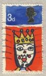 Stamps United Kingdom -  Christmas, 1966
