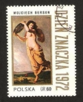 Stamps : Europe : Poland :  pintura de wojciech gerson