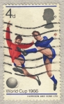 Stamps United Kingdom -  England's World Cup Football Victory